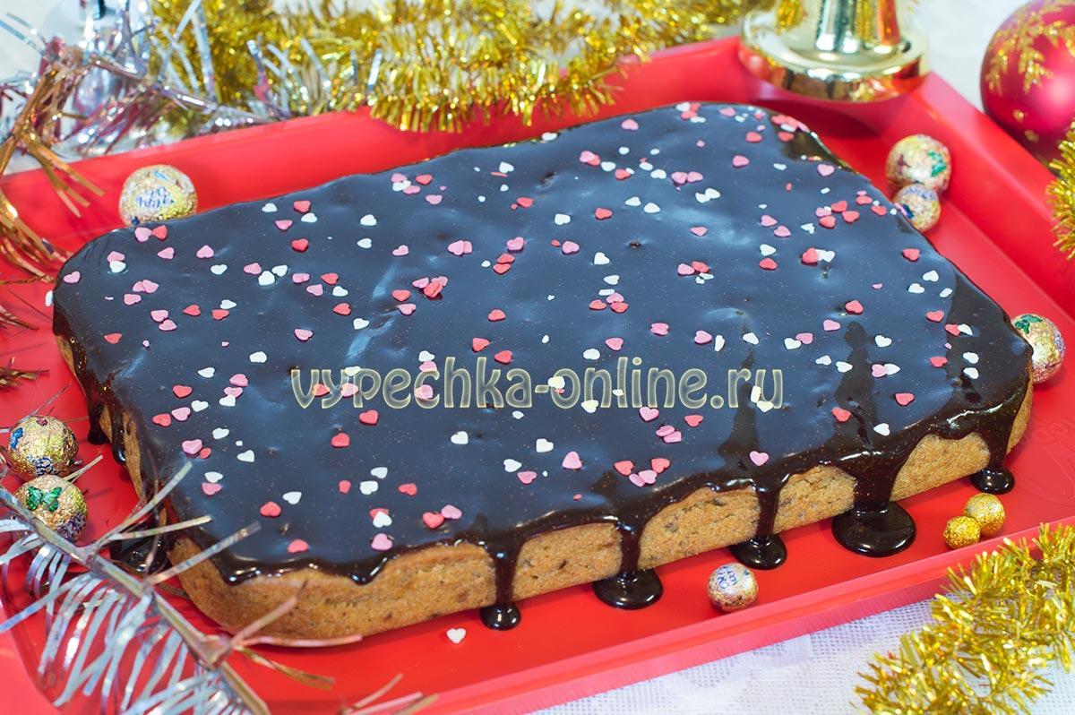 Постный сладкий пирог без дрожжей рецепт яблоками и финиками