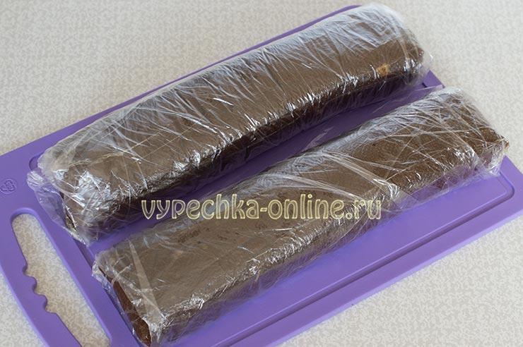 Шоколадная колбаса без сгущёнки
