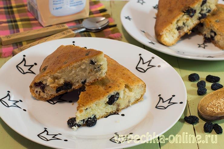 Простой постный пирог к чаю из ананасового сиропа, без дрожжей – рецепт с фото