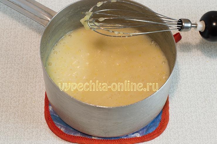 Постный крем для торта рецепт