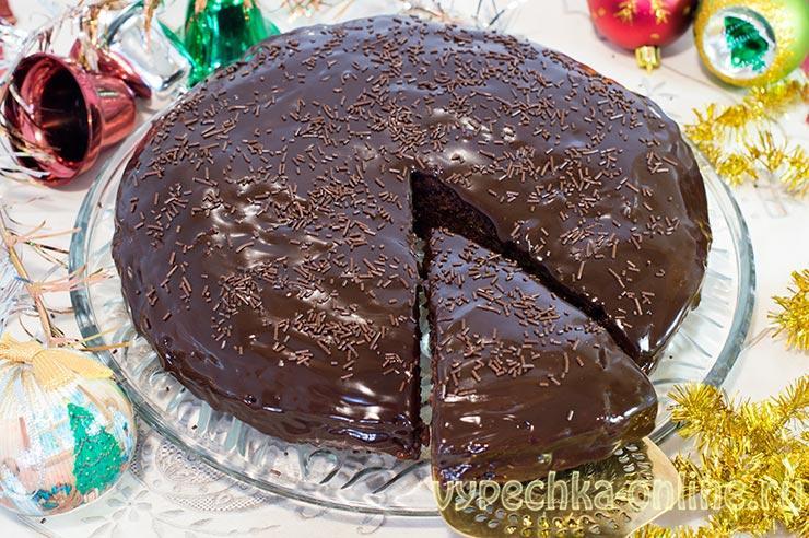 Постный шоколадный торт рецепт в домашних условиях с джемом – Захер (Sacher)