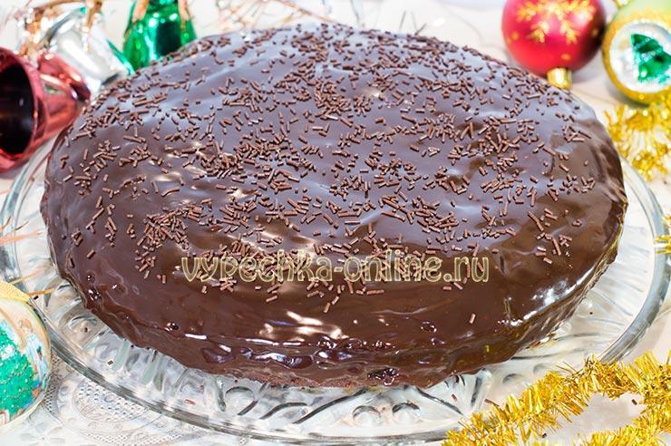 Торт Захер без масла сливочного и без яиц