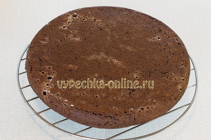Постный шоколадный торт рецепт в домашних условиях