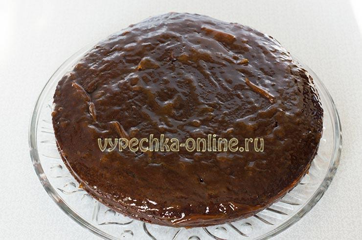 Торт Захер без яиц и без сливочного масла