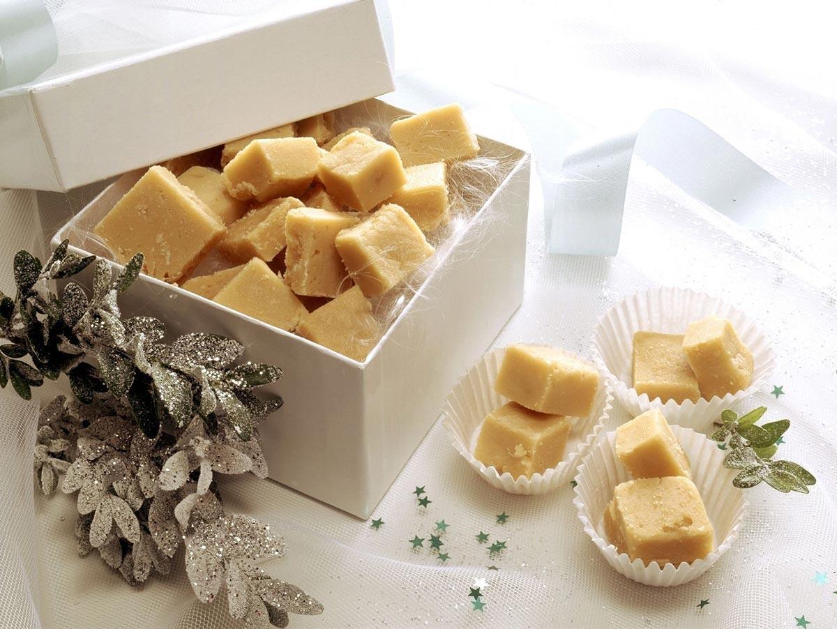 Домашние конфеты из сливок и сахара