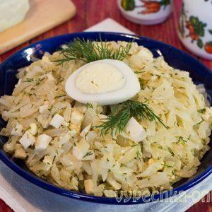 Бланшированная капуста для пирожков и пирогов – рецепт начинки с яйцом