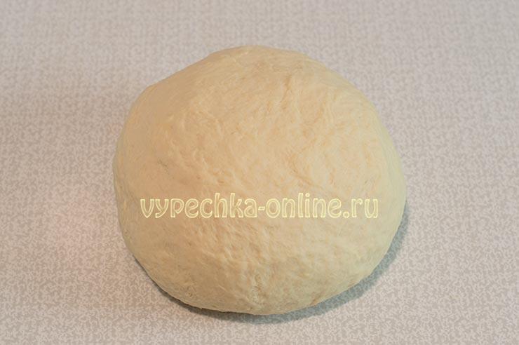 Дрожжевое тесто на кефире для пирожков на живых дрожжах
