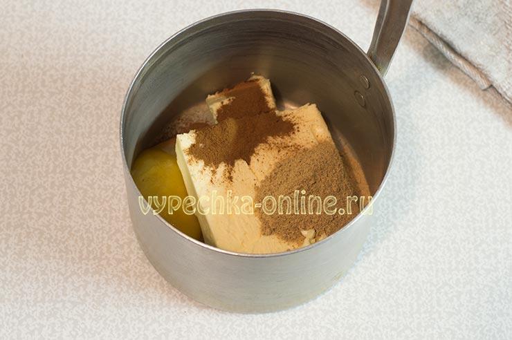 Масло, мёд, специи
