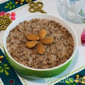 Сочиво на Рождество рецепт с орехами и шоколадом (кутья для сочельника)