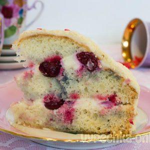 Торт Зимняя вишня рецепт с фото пошагово в домашних условиях