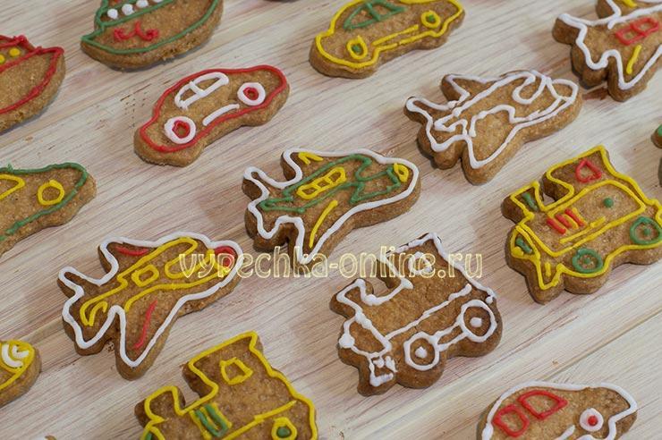 Хрустящее имбирное печенье