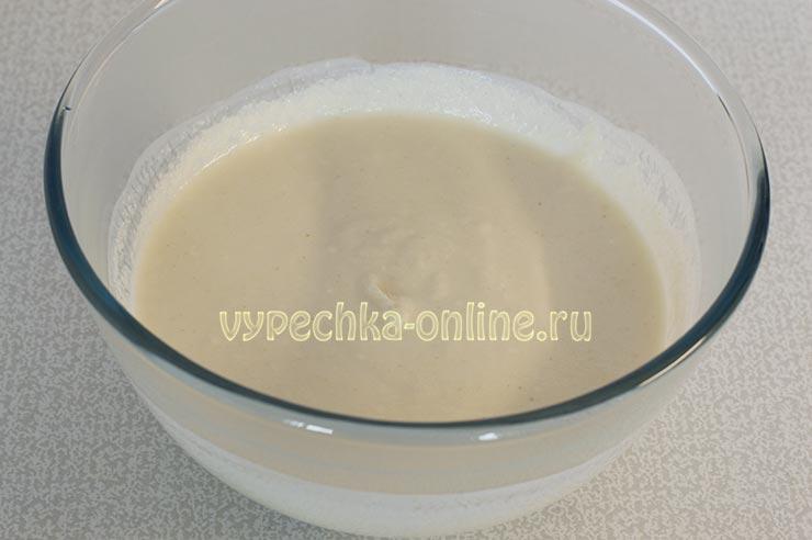 Манная крупа, йогурт