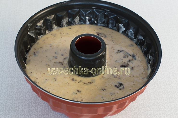 Манник на йогурте без муки и масла
