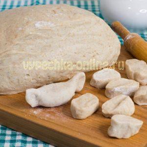Тесто для пельменей с добавлением цельнозерновой муки