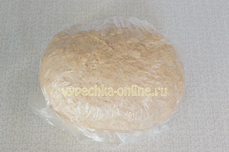 Тесто для пельменей с ржаной мукой и пшеничной двух видов