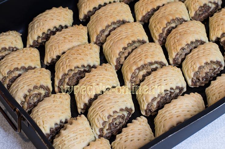 Красивое печенье из песочного теста