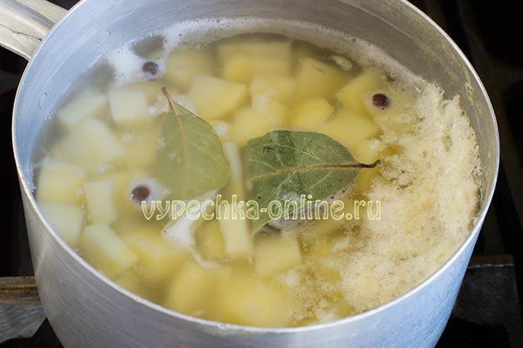 Отваривание картошки