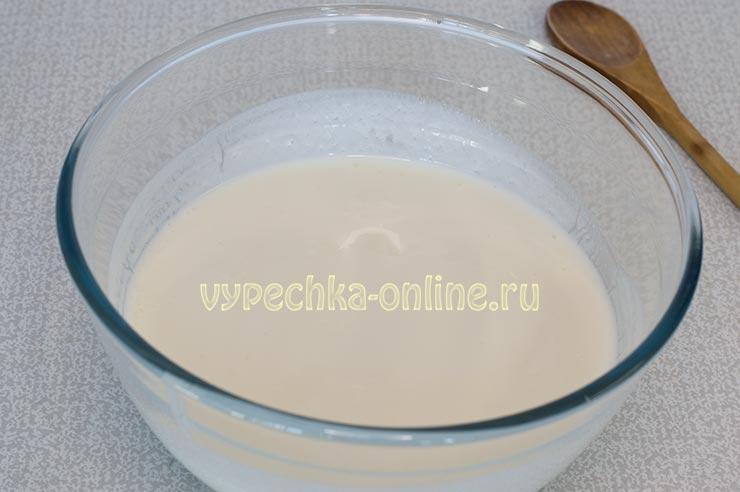 Кефир, сода