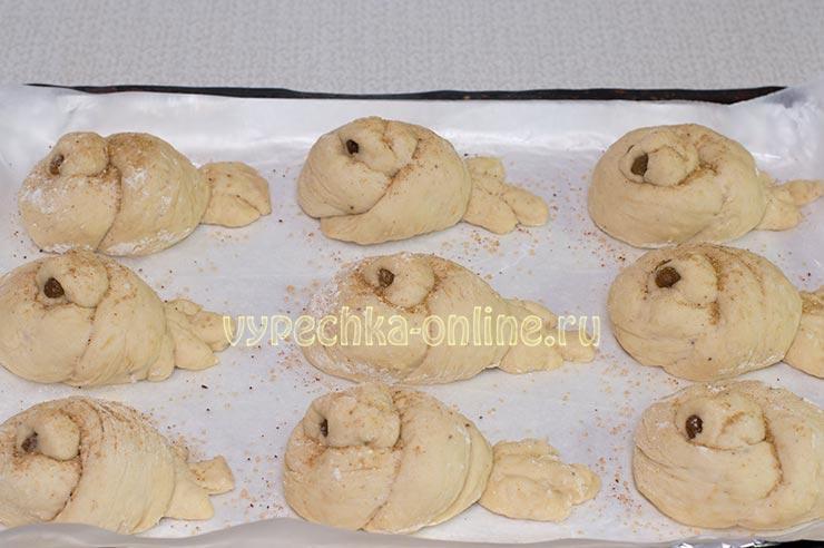 Оформление булочек