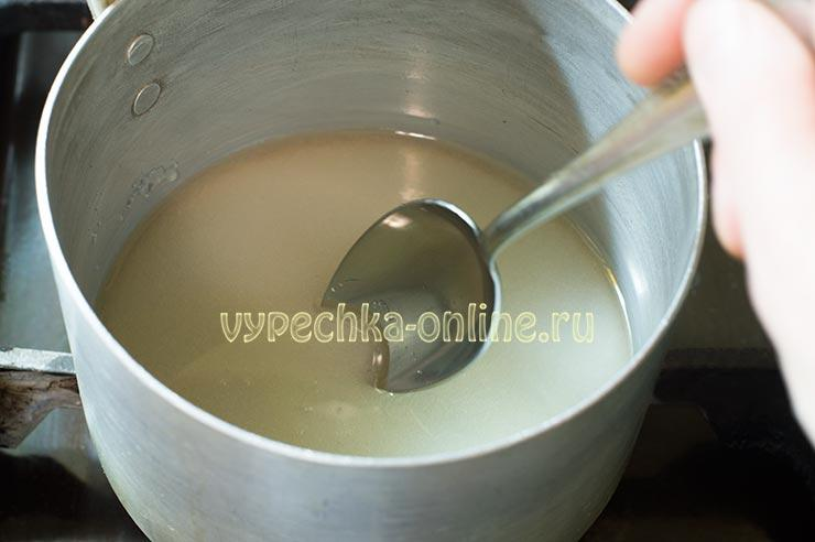Сахарный сироп