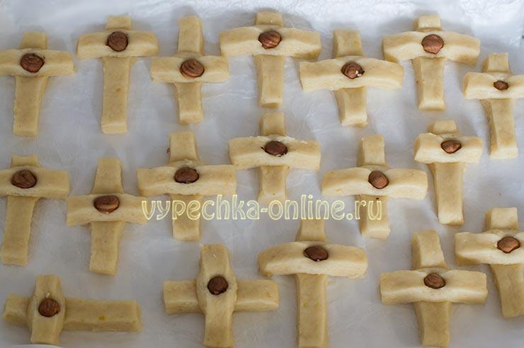 Печенье Кресты на Крестопоклонной неделе
