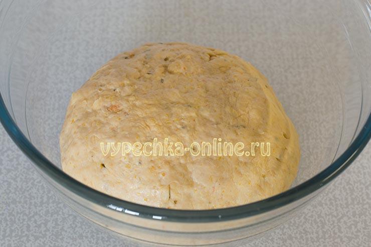 Бездрожжевое постное тесто