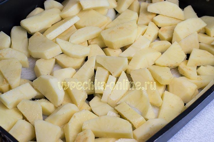 Картошка ломтиками