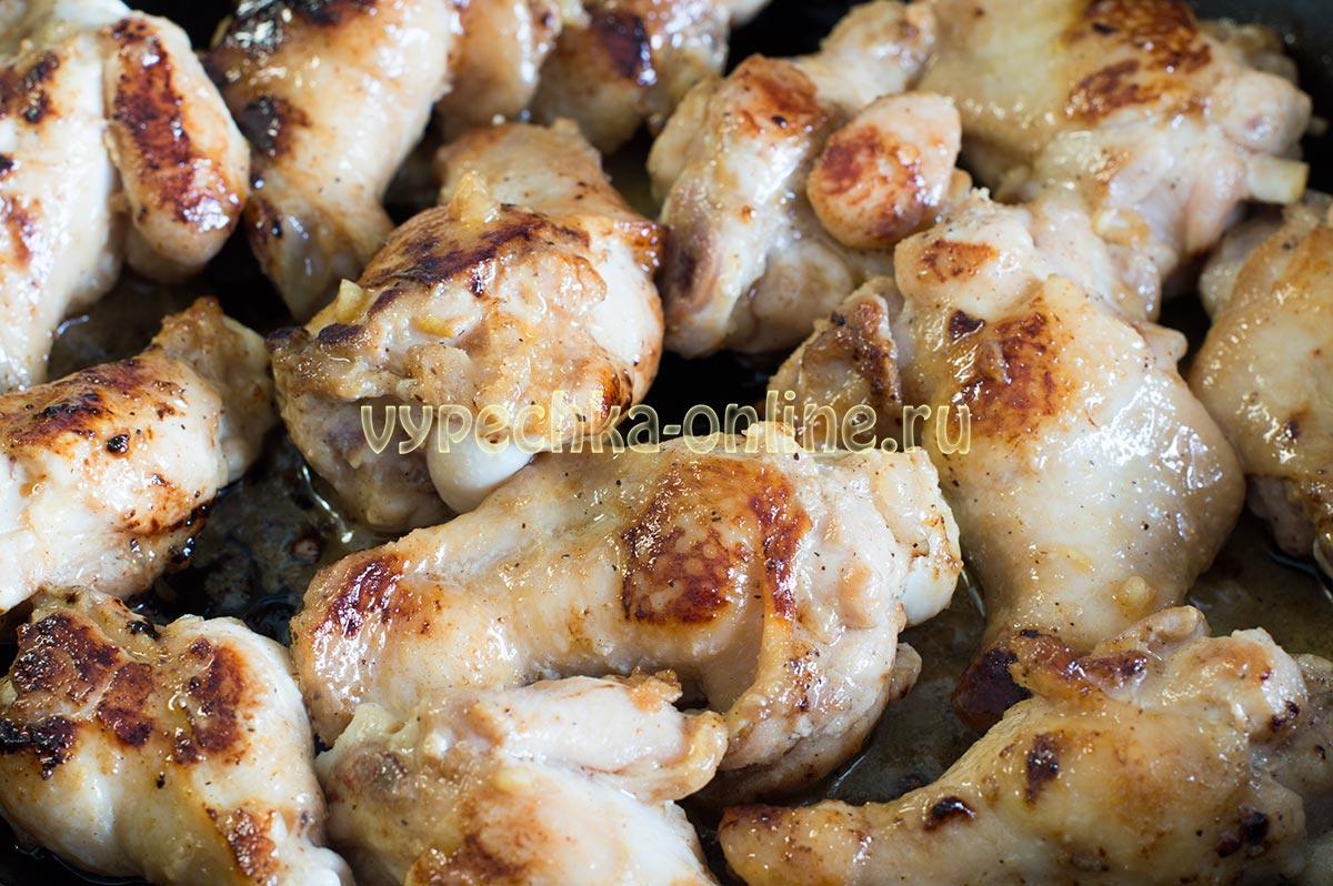 Крылышки в соево-имбирном маринаде