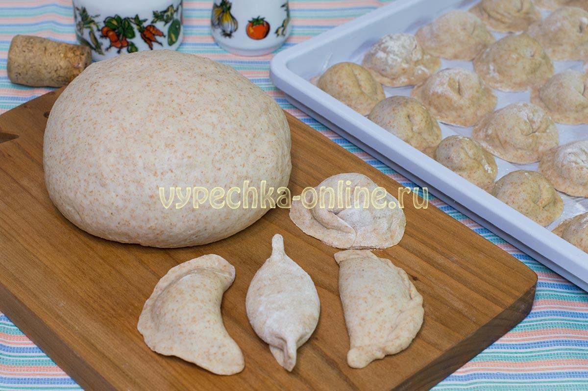 Постное тесто для вареников