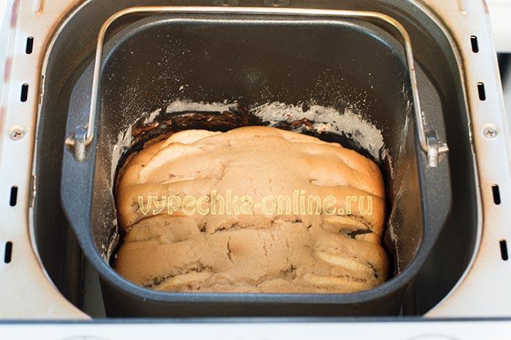 Выпечка из ржаной муки в хлебопечке