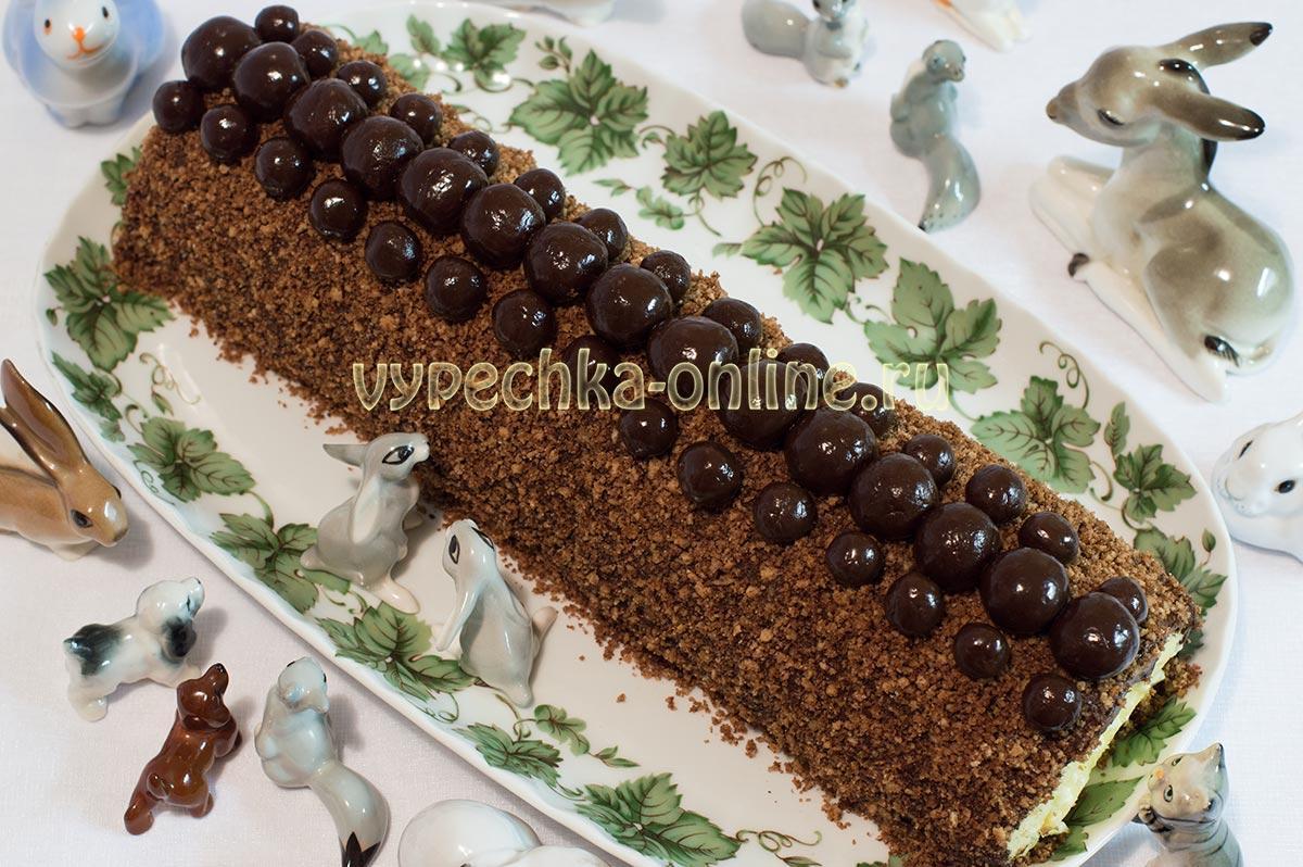 Скатала шоколадные шарики