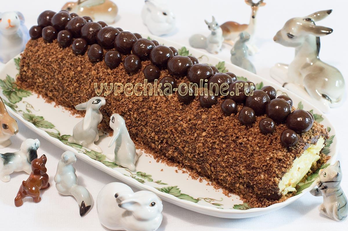 Торт-рулет Сказка из детства