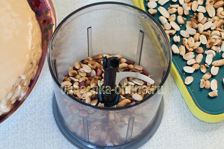Перемалывание арахиса